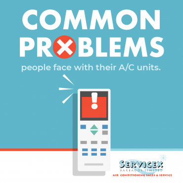Common Problems People Face with Their AC Unit